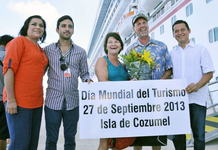 Turistas disfrutarán de excursiones durante su estancia en Cozumel. (Redacción/SIPSE)