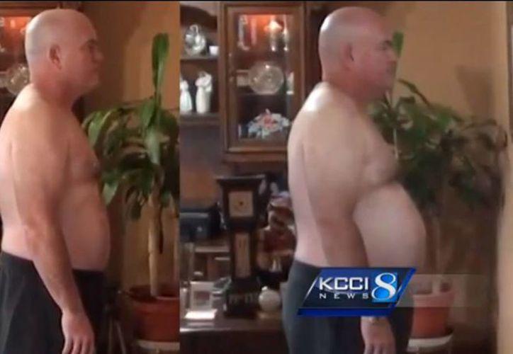 John Cisna calculó la ingesta de calorías que consumía con los productos de McDonald's, además que realizó ejercicio físico. (Captura de pantalla)