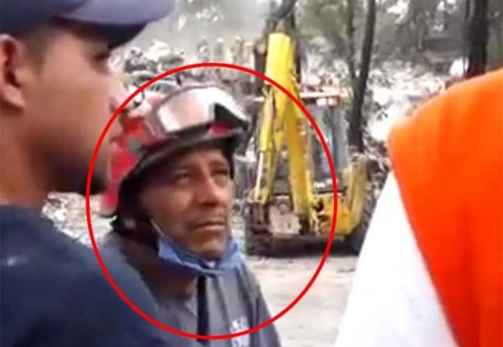 El bombero Morales señaló que su acción es parte del cumplimiento de un integrante de la corporación. (Vanguardia)