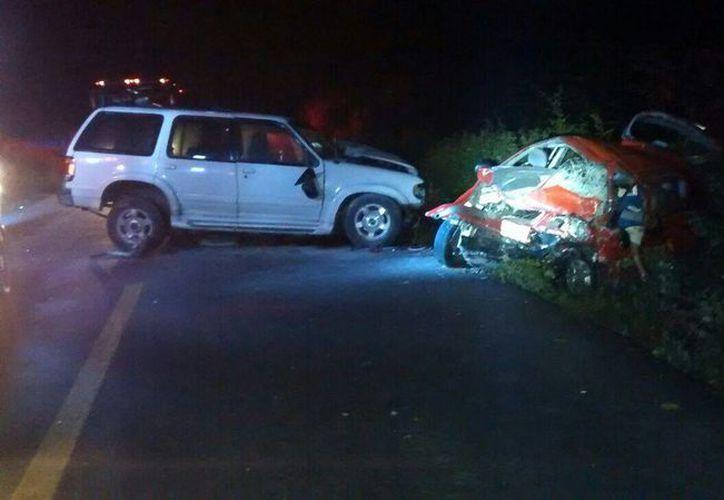 El accidente ocurrió en el kilómetro 185+500 de la carretera de Felipe Carrillo Puerto. (Redacción/SIPSE)