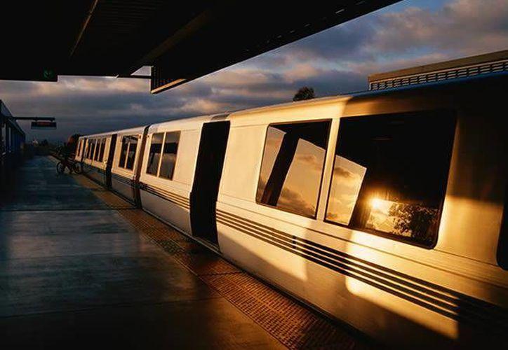 El Tren Rápido México-Querétaro será el primero de alta velocidad en el continente americano.(twitter.com/SCT_mx)