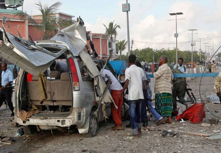 Ataque rebelde dejó varios muertos en hotel de Somalia. (AP)