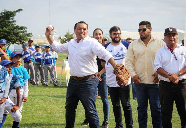 """Un gran ambiente se vivió en la unidad deportiva """"Fernando Valenzuela""""(Foto:Novedades Yucatán)"""