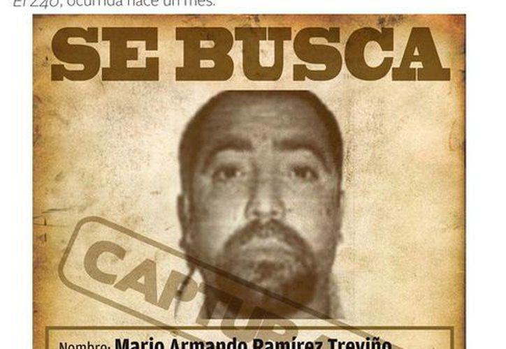Ramírez Treviño es acusado de ser responsable de la escalada de violencia en Tamaulipas, varios secuestros, así como de ataques mortales contra policías y militares. (MILENIO)