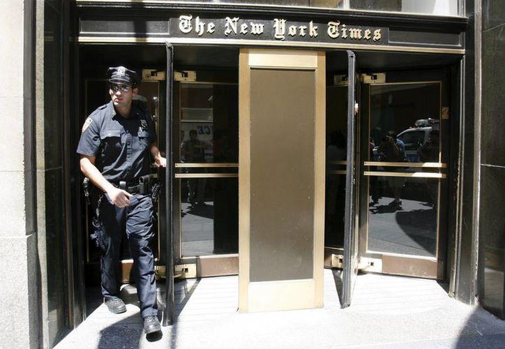 "The New York Times, en su editorial titulado ""¡A votar!"", califica como un ""hombre déspota"" al candidato presidencial republicano, Donald Trump. (EFE/Archivo)"