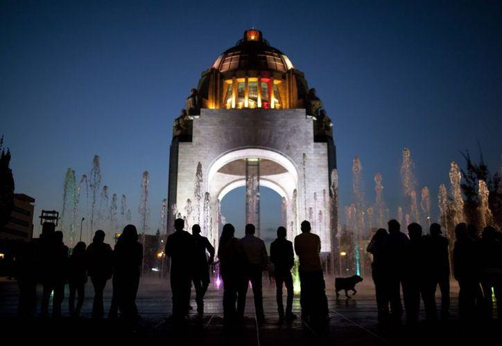 Arco del Monumento a la Revolución en la Ciudad de México. (Agencias)