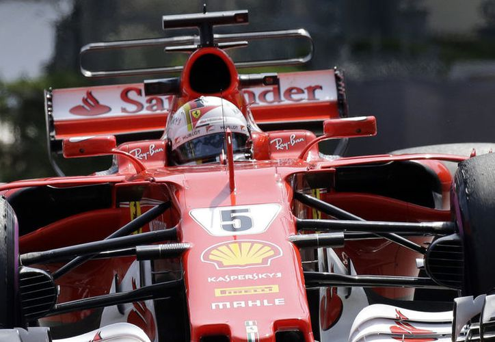 Ferrari persigue victoria el domingo.  (Foto:VanguardiaMX)