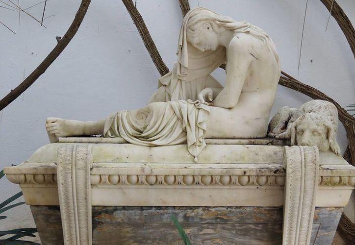 Esta es una de las obras más destacadas del escultor malagueño José Vilches. (López Dóriga Digital)