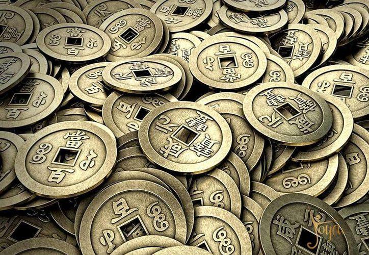 """El amuleto de las """"nueve monedas chinas"""" es usado por mucha gente y se activa a partir del primero de septiembre de cada año. (Jorge Moreno/SIPSE)"""
