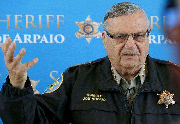 El sheriff Joe Arpaio presentó una demanda para evitar que sean implementadas las medidas anunciadas por el presidente Barack Obama. (Agencias)