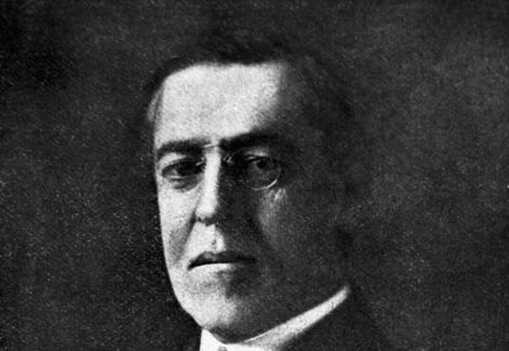 Thomas Woodrow Wilson, 28º presidente de los Estados Unidos entre 1913 y 1921. (Archivo/EFE)