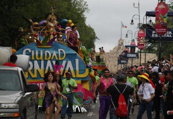 El Carnaval en Paseo de Montejo llegó a recibir millones de visitantes al año. (Archivo/SIPSE)
