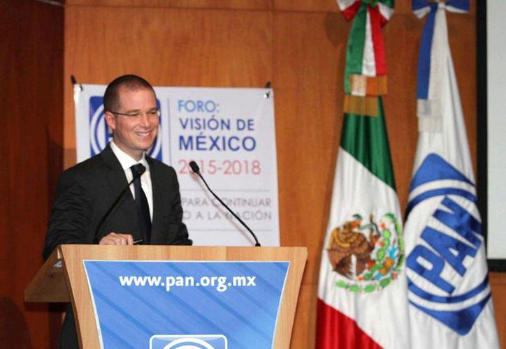 Ricardo Anaya aseguró que se utilizarán los mecanismos democráticos para la defensa de los intereses ciudadanos. (Archivo/Notimex)