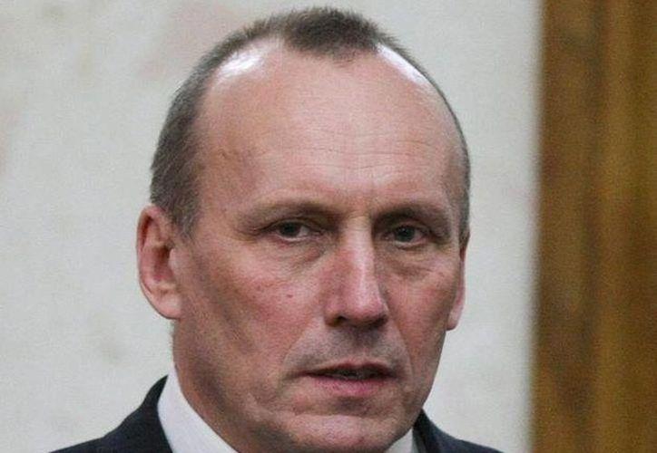 El presidente de la compañía gasística ucraniana, Naftogaz, Yevgeny Bakulin fue arrestado después de que  agentes de seguridad registraron la sede de la empresa. (EFE/Archivo)