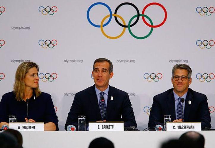 """Donald Trump, aseguró que su país está """"trabajando duro"""" para conseguir los Juegos Olímpicos de 2024. (Reuters)"""
