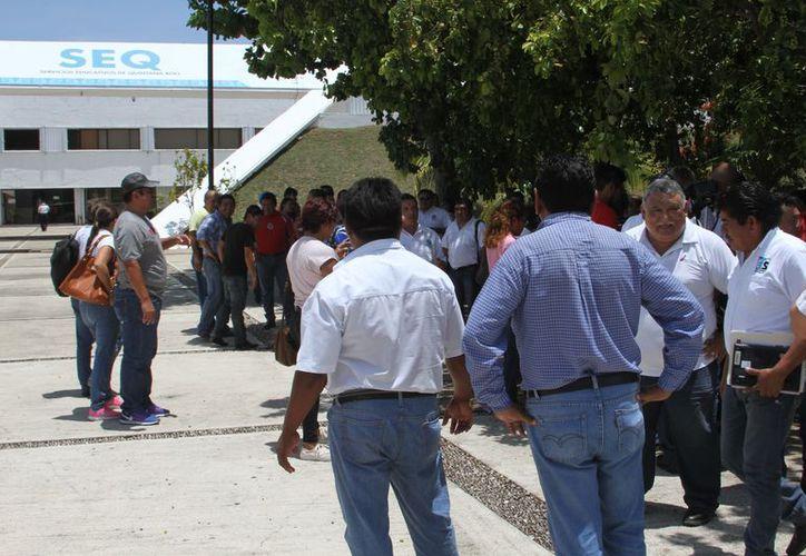 Hasta el cierre del registro cumplieron el proceso tres mil 456 docentes. La fecha límite será el próximo 22 de julio. (Joel Zamora/SIPSE)