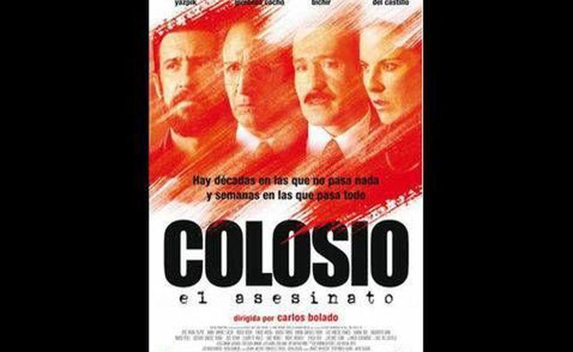 """Cartel de la película """"Colosio: El asesinato"""" (2012), dirigida por Carlos Bolado. (Facebook/Colosio, la película)"""