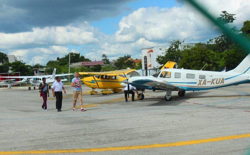 Resultado de imagen para aerodromo playa del carmen
