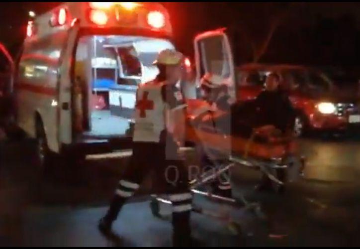 La noche del martes elementos de la Secretaría de Seguridad Pública de Quintana Roo fueron atacados por un comando, en Cancún. (Redacción/SIPSE)