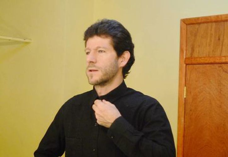 Juan Carlos Lomónaco es el Director de la Orquesta Sinfónica de Yucatán y afirma que es una de las mejores del país. (Milenio Novedades)