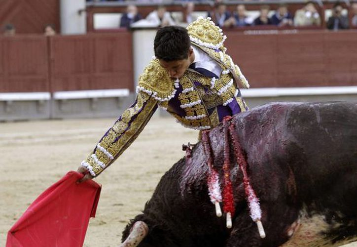 El diestro mexicano Sergio Flores. (EFE/Archivo)