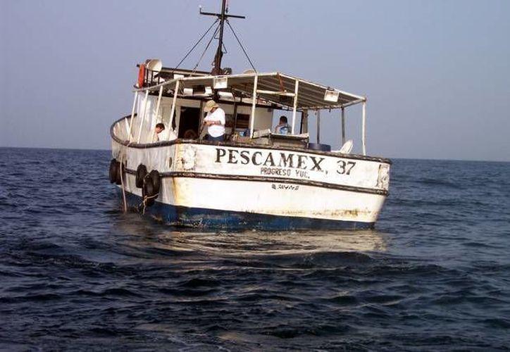 Otros barcos de Pescamex se han sumado a la búsqueda del 'Cuauhtémoc X', igual perteneciente a esa empresa yucateca. (foros.pesca.org.mx)
