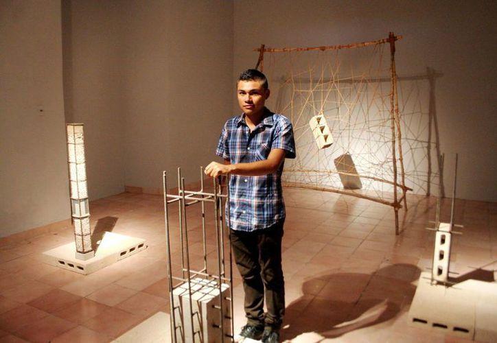 La inauguración de la exposición de la obra de Jonathan Cu tendrá lugar a las 20 horas y la entrada es libre. (Christian Ayala/SIPSE)