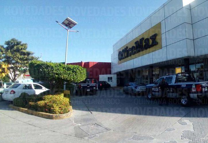 Los hechos ocurrieron en un establecimiento de la Av. Cobá. (Eric Galindo/ SIPSE)