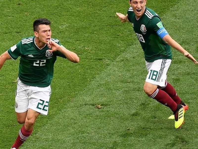 El delantero mexicano Hirving 'Chucky' Lozano parece estar predestinado a anotar cuando son sus primeros partidos (Foto: xinhua)