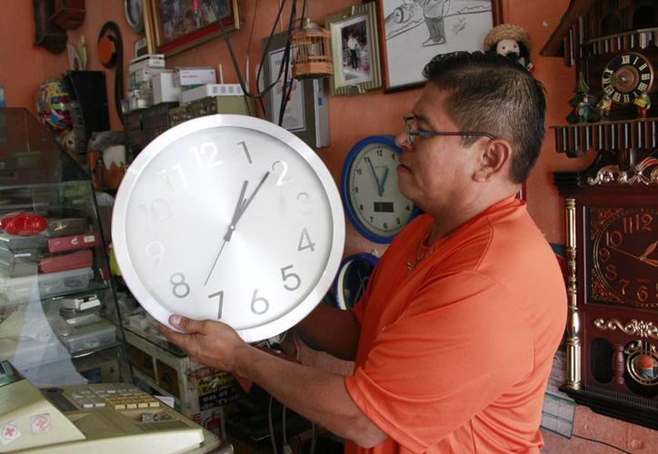 El estado se queda con el horario establecido. (Tomás Álvarez/SIPSE)