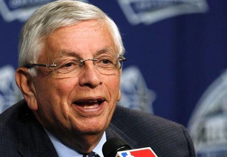Stern dijo que se tomaría como ejemplo lo que ocurre en la NFL y en las Grandes Ligas. (www.mediotiempo.com)