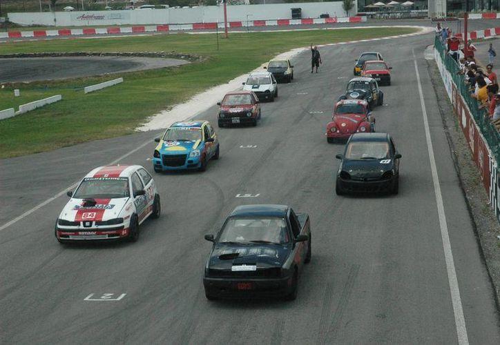 La competencia se realizará en el Autódromo Internacional de Cancún. (Raúl Caballero/SIPSE)