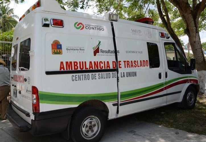 Las ambulancias fueron entregadas de manera estratégica para que puedan llegar a los hospitales. (Paloma Wong/SIPSE)