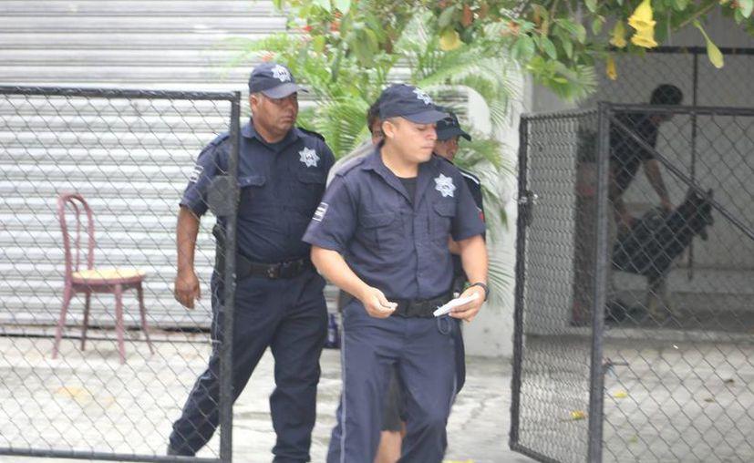 Al lugar acudió personal de la Policía Preventiva quienes se entrevistaron con el propietario del domicilio. (Redacción/ SIPSE)