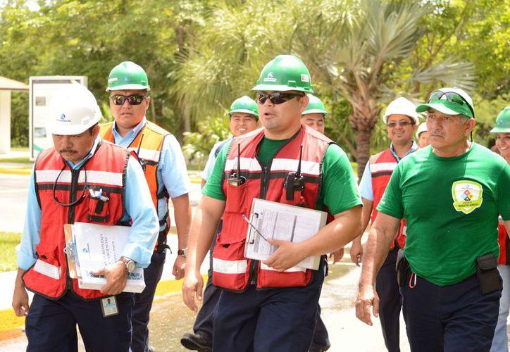 Se cuenta con personal capacitado, entrenado y preparado para prevenir, controlar y reaccionar ante una emergencia. (Cortesía)