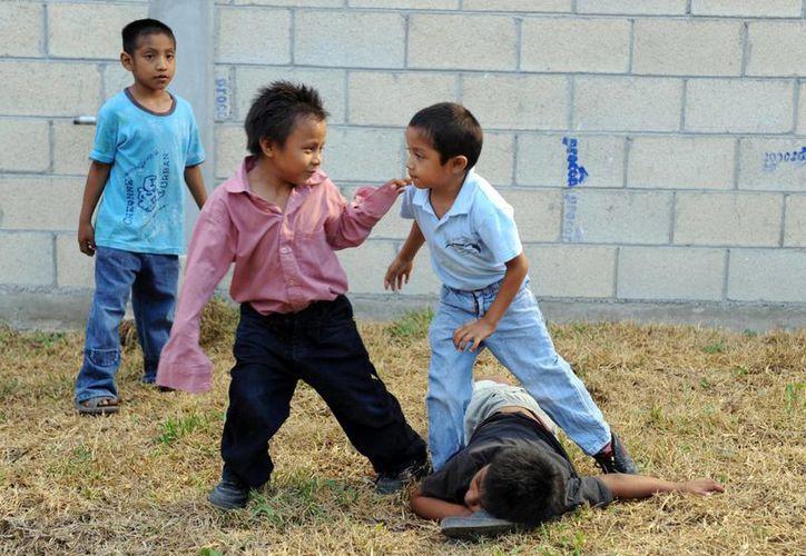 Los niños en Yucatán crecen más que antes, sobre todo por la llegada de ciertos alimentos y por el ejercicio. (Amílcar Rodríguez/Milenio Novedades)