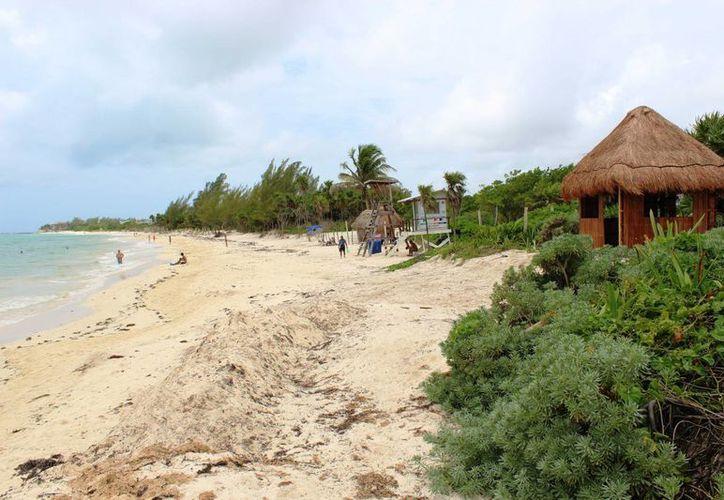 Tres construcciones han sido frenadas en la zona costera de Playa del Carmen por irregularidades en los permisos. (Octavio Martínez/SIPSE)