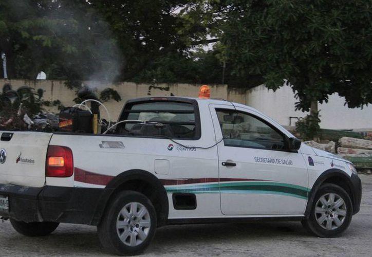 La Jurisdicción Sanitaria comenzará con las nebulizaciones. (Luis Soto/SIPSE)