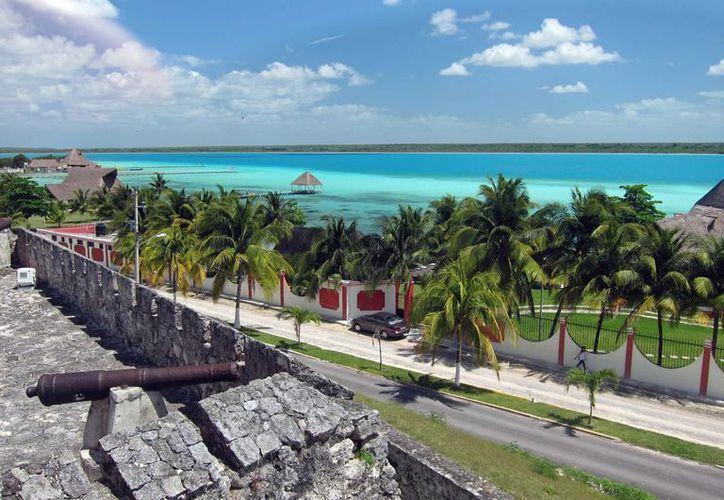 El Fuerte San Felipe, en Bacalar, fue registrado de forma tridimensional  por el INAH. (Contexto/Internet)