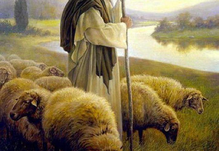 Con Jesús, la imagen del pastor, revela a un Dios que conduce a sus ovejas involucrándose en la vida misma de ellas.
