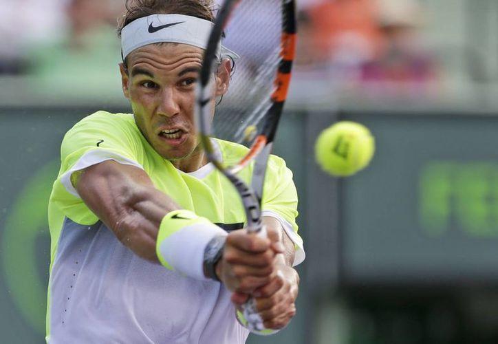 Rafael Nadal asegura que la lesión que presenta en el tobillo no lo limita para jugar. (AP)