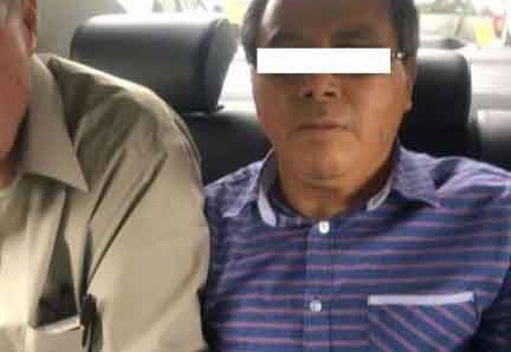 Las autoridades informaron que se ejecutó la orden de aprehensión en contra del ex funcionario, quien fue trasladado a las instalaciones del penal de Pacho Viejo. (El Mundo)
