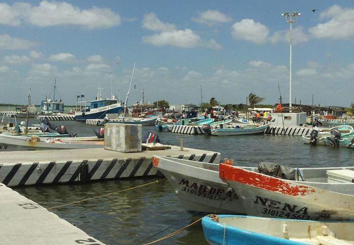 Las embarcaciones menores no podrán hacerse a la mar. (Manuel Pool/SIPSE)