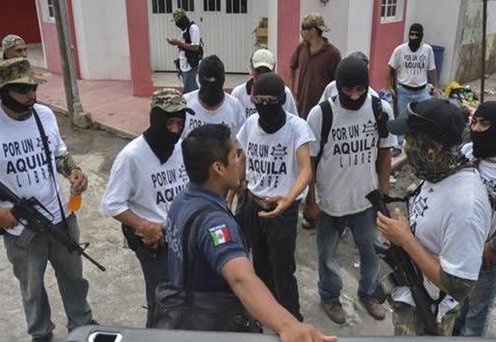 Son 50 los elementos que forman parte de la nueva Fuerza Indígena Purépecha en cinco municipios de Michoacán, donde también trabajan la Fuerza Rural y la Fuerza Ciudadana. . (lapacourondo.com.ar/Foto de contexto)