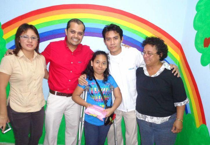 Ojeda Manzano deja la UBR de Progreso en plenos trabajos de ampliación de la unidad de rehabilitación. (Manuel Pool/SIPSE)
