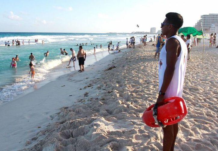 En Playa Delfines, el operativo se instalará durante las 24 horas del día. (Cortesía/SIPSE)