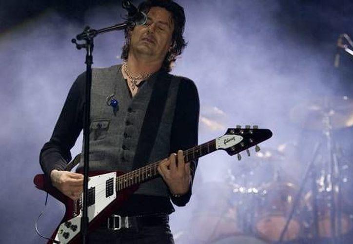 El ex vocalista de la banda de rock Caifanes, Saúl Hernández, dará uno de los dos magnos conciertos que se realizarán en Playa del Carmen por el festejo del 40 aniversario de Q. Roo.  (Foto de contexto/Internet)