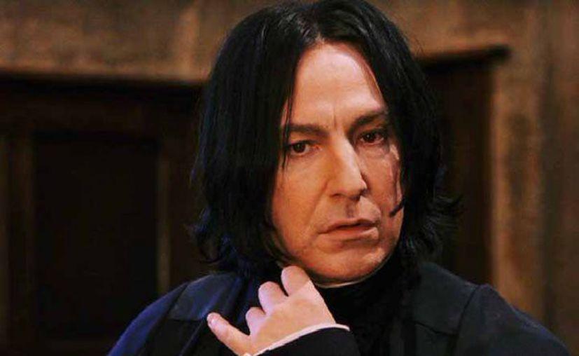 Algunos fans de los libros de J.K. Rowling creen que Snape en realidad es una mujer transgéro. (Foto: Contexto/Internet)