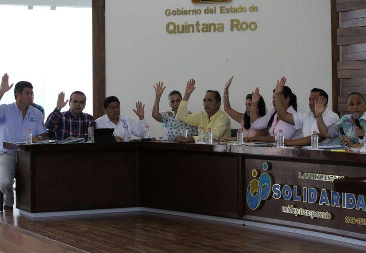 Algunos regidores únicamente hacen acto de presencia pues no aportan ideas en pro de la comunidad. (Foto: Adrián Barreto/SIPSE).
