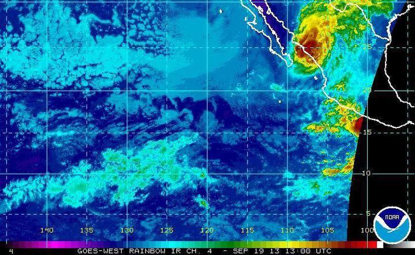 La zona de alerta por efectos del huracán Manuel abarca de La Cruz a Topolobampo, Sinaloa. (ssd.noaa.gov)